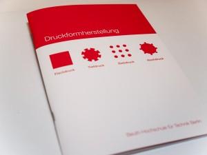 Rückstichgeheftete Broschur