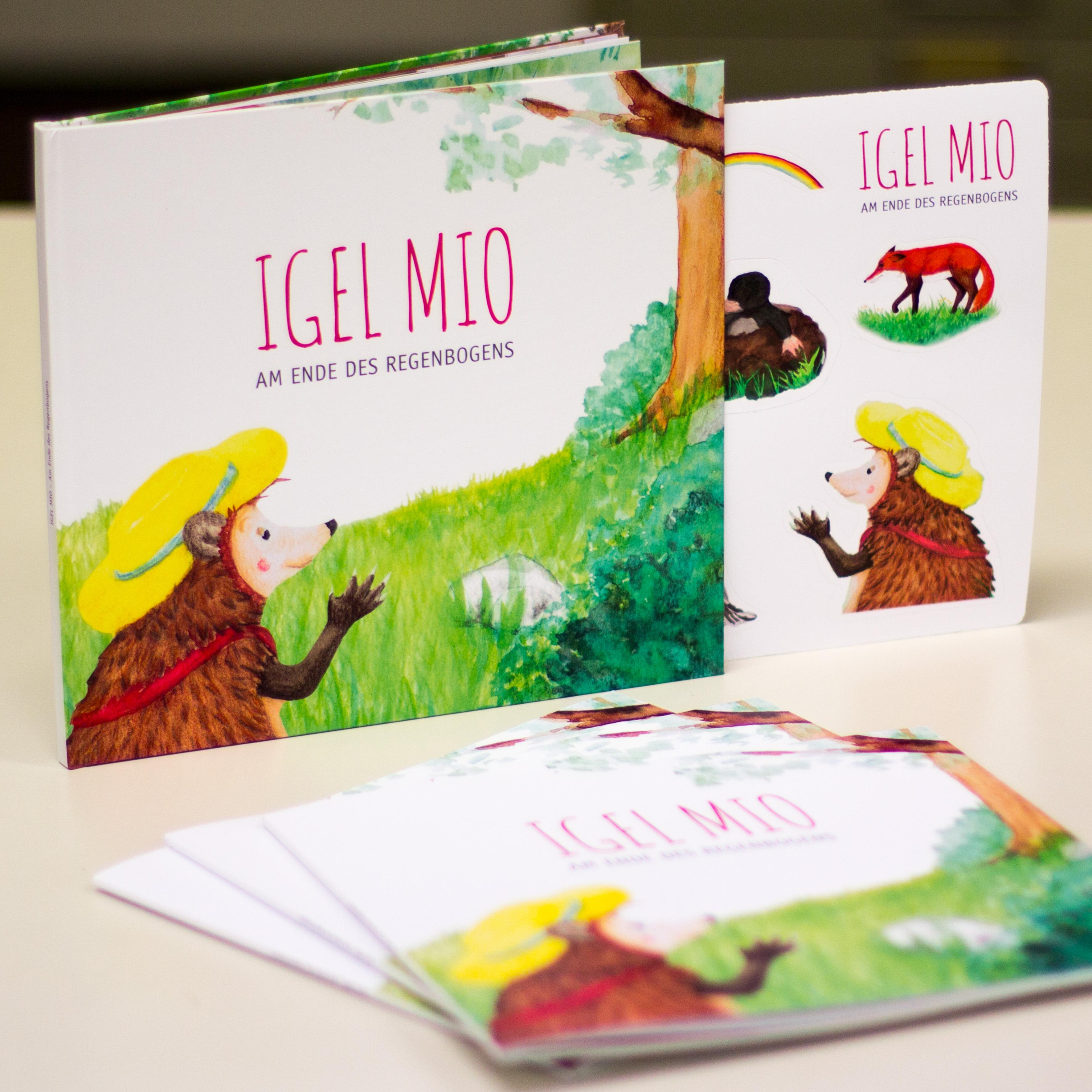 Kinderbuch mit Stickereinleger