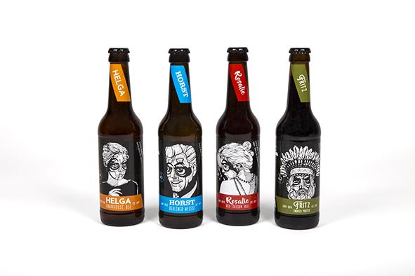 Projekt Pulle - die Vier mit dem Bier