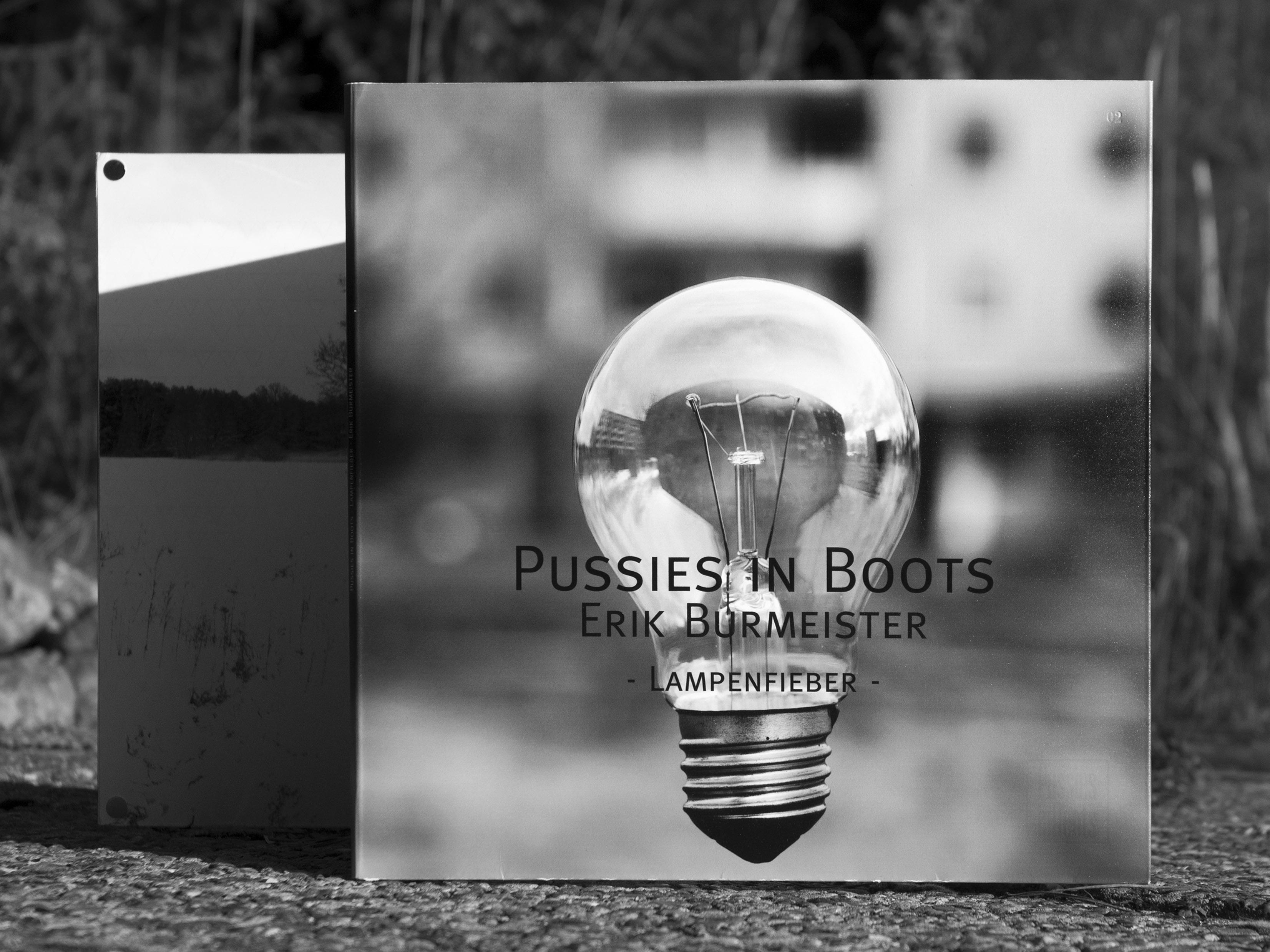 Vinylcover - Split LP Lampenfieber