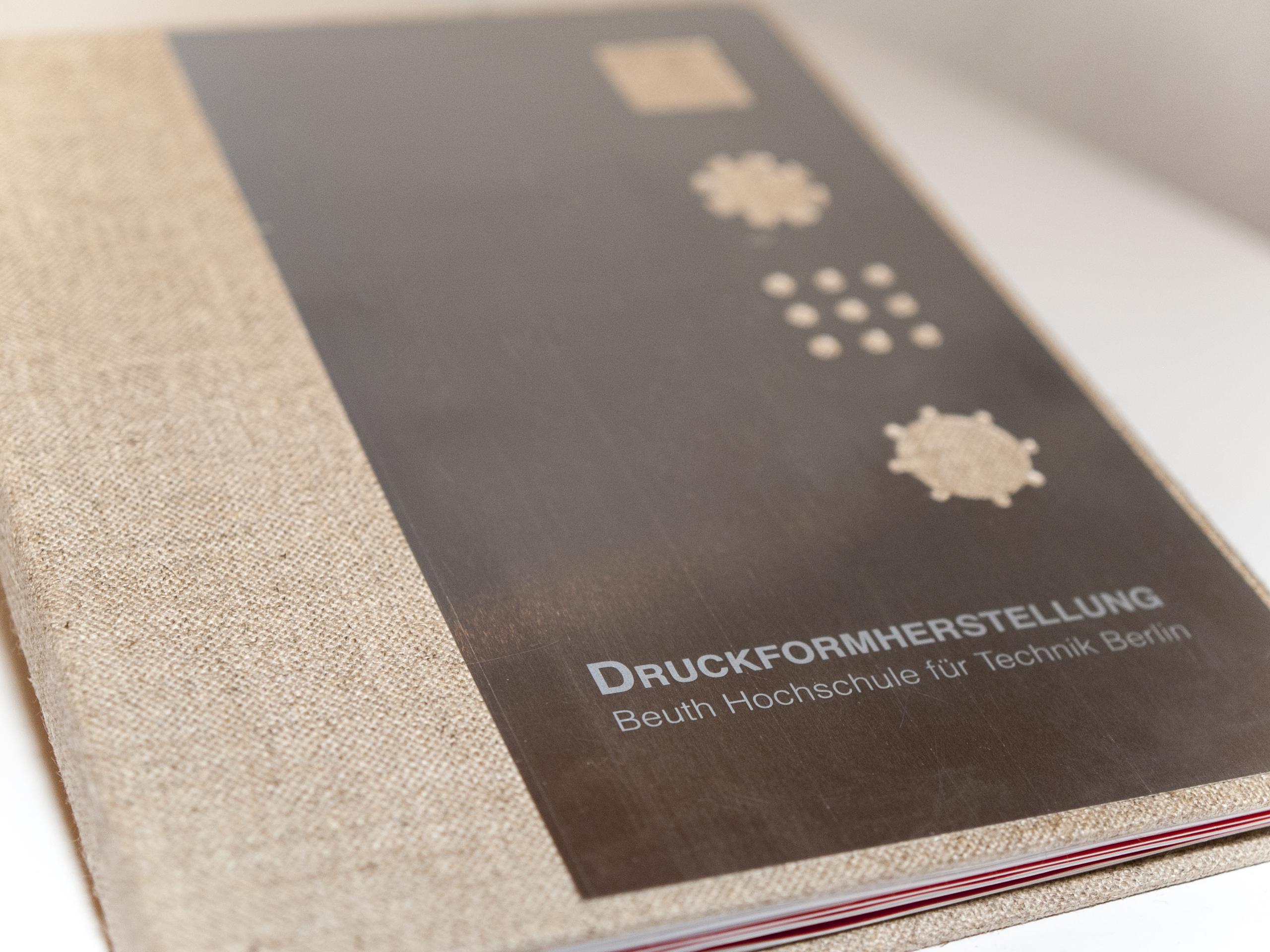 Broschur zum Thema Druckformherstellung