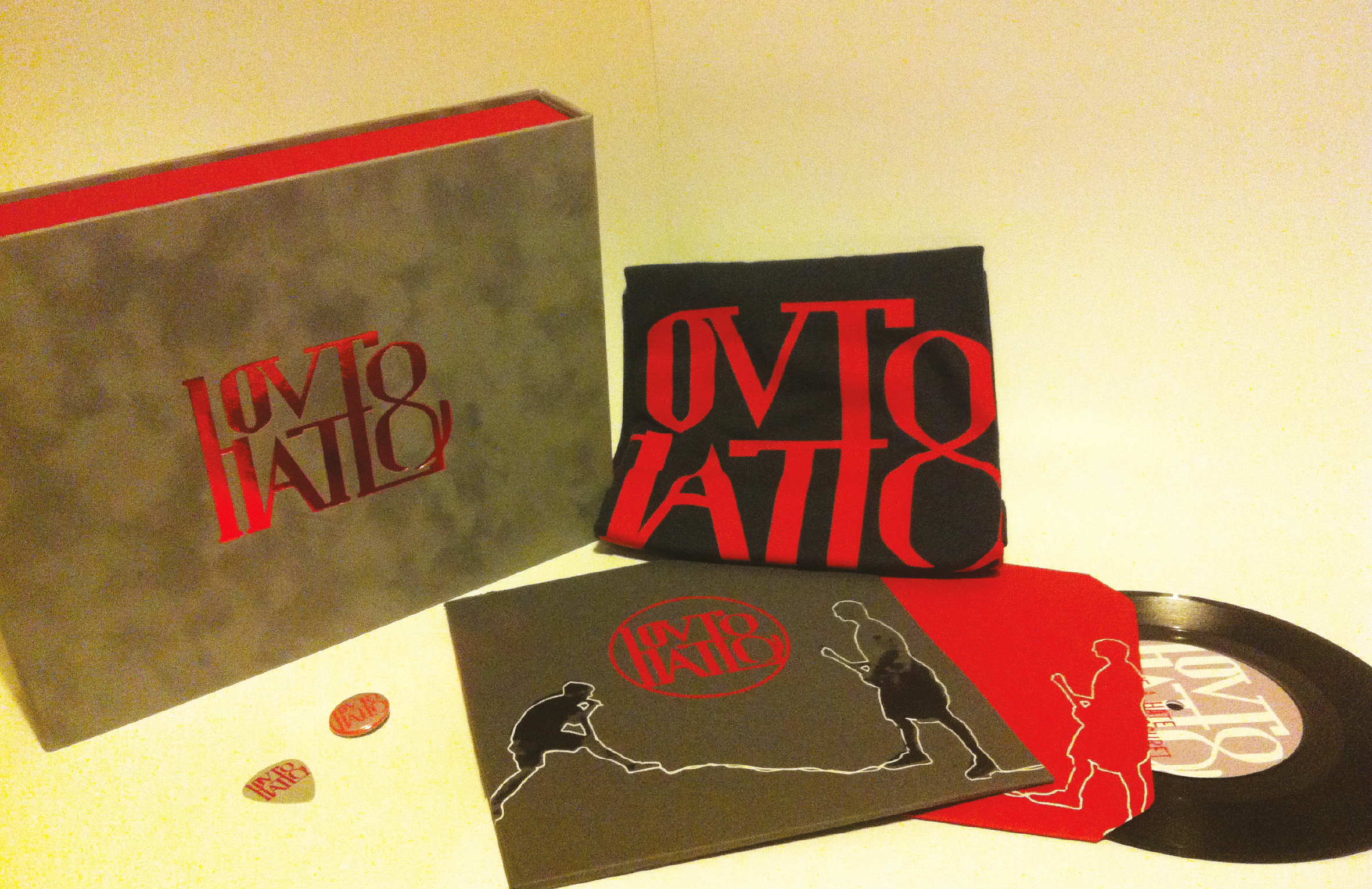 Projekt Love & Hate Promo-Box