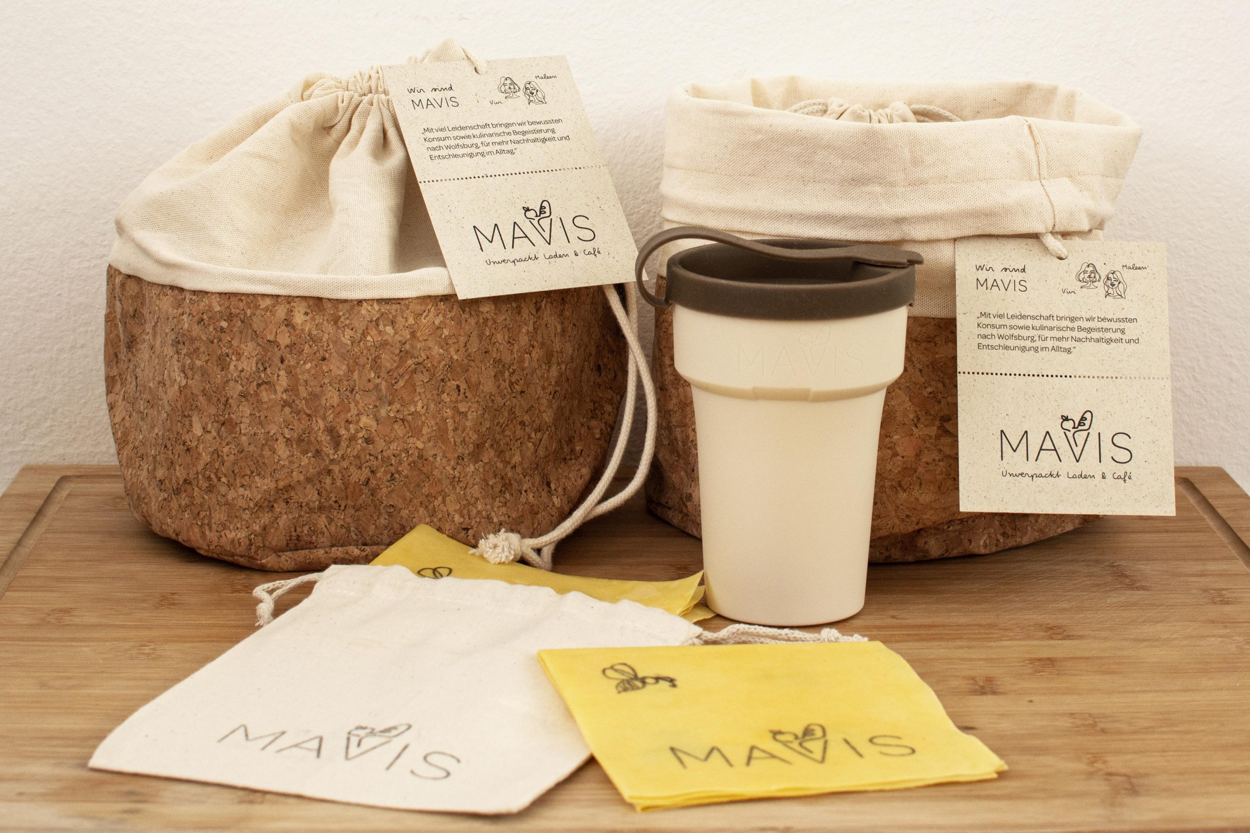 MAVIS – Unverpackt Laden & Café (PR-Paket & Corporate Design)